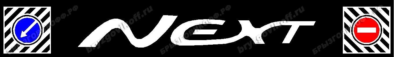 Брызговик бампера - 10202.014 - Next