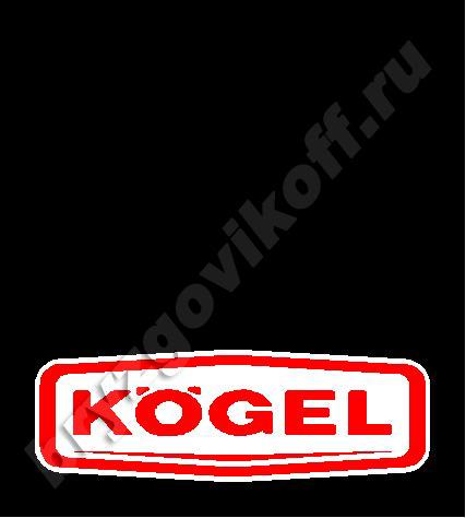 Брызговик рамы - 40102.464 - Kogel
