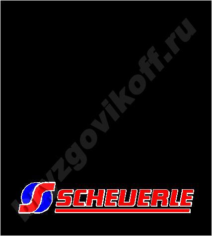 Брызговик рамы - 41100.464 - Scheuerle
