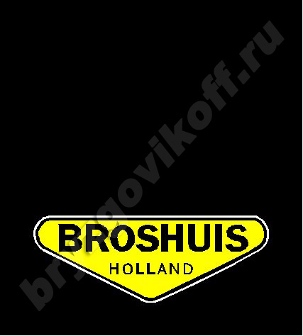Брызговик рамы - 41400.464 - Broshuis